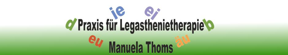 Legasthenietherapie Manuela Thoms